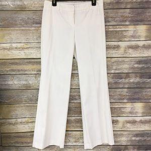 Express Ivory Striped Editor Dress Pants